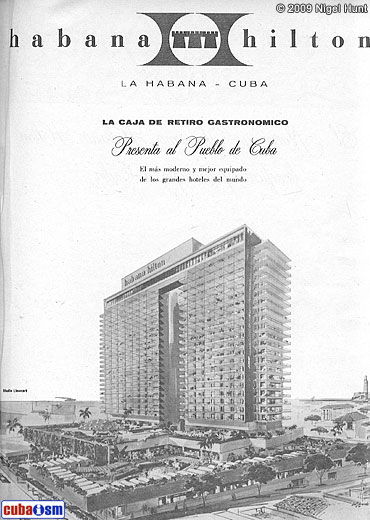 Hotel Habana Libre, Old Photo
