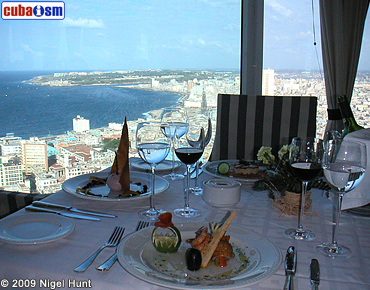 Top Floor Restaurant View