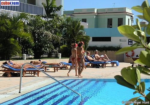 Pool Area The Hotel Habana Libre